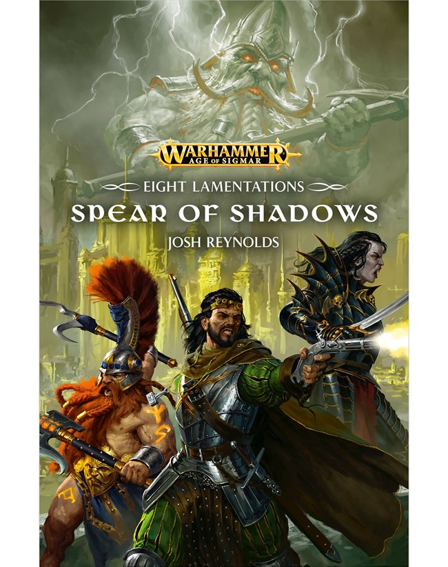 Black Library: Eight Lamentations- Spear of Shadows (PB)