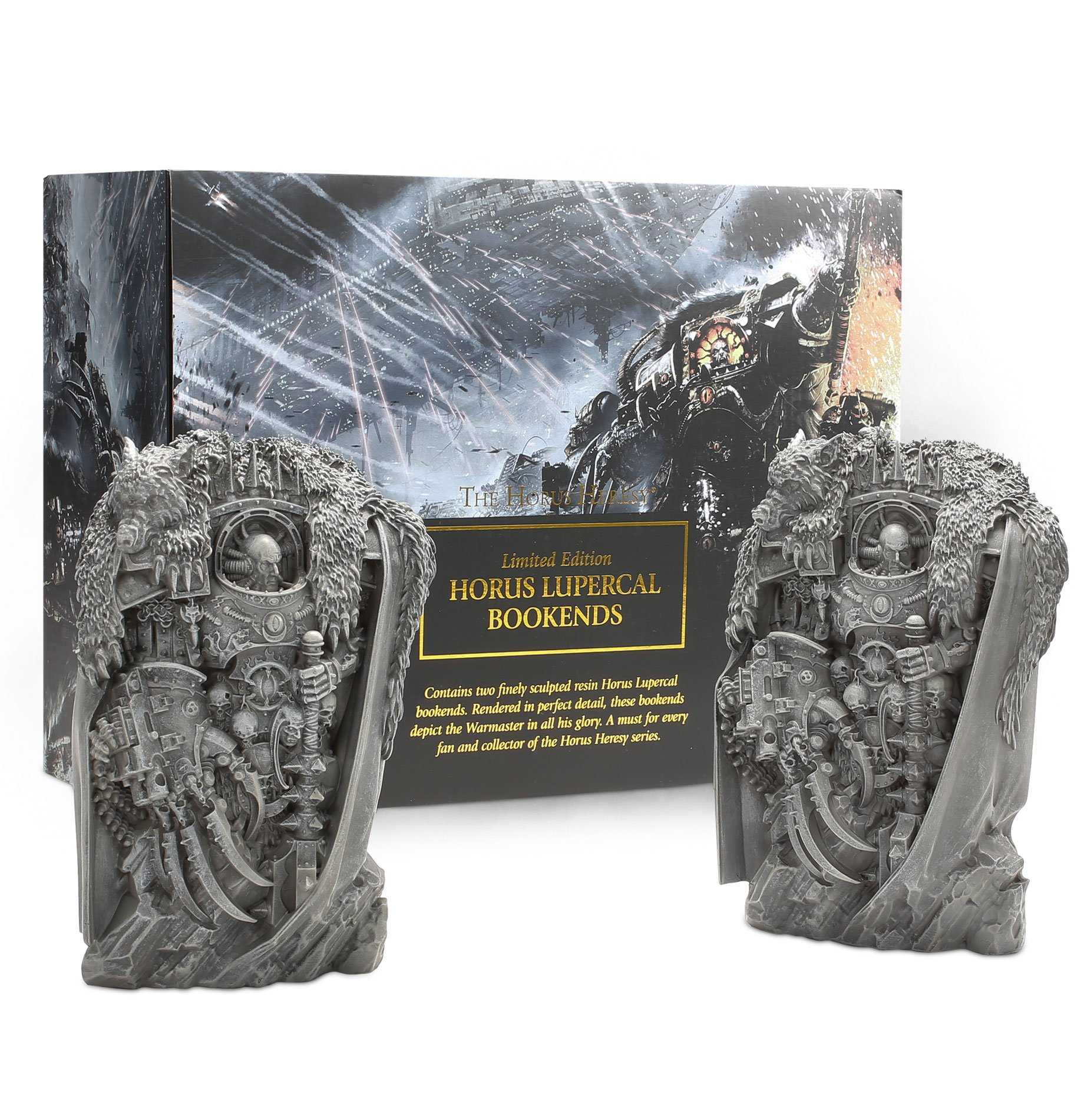 Black Library: HORUS HERESY: Horus Lupercal Bookends