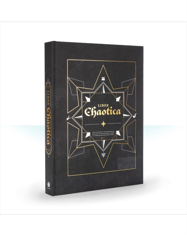 Black Library: Liber Chaotica (Hardback)