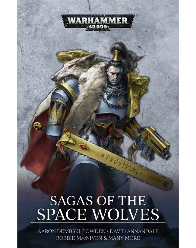 Black Library: SAGAS OF THE SPACE WOLVES (PB)