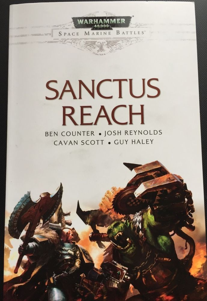 Black Library: Sanctus Reach- Blood on the Mountain (HC)