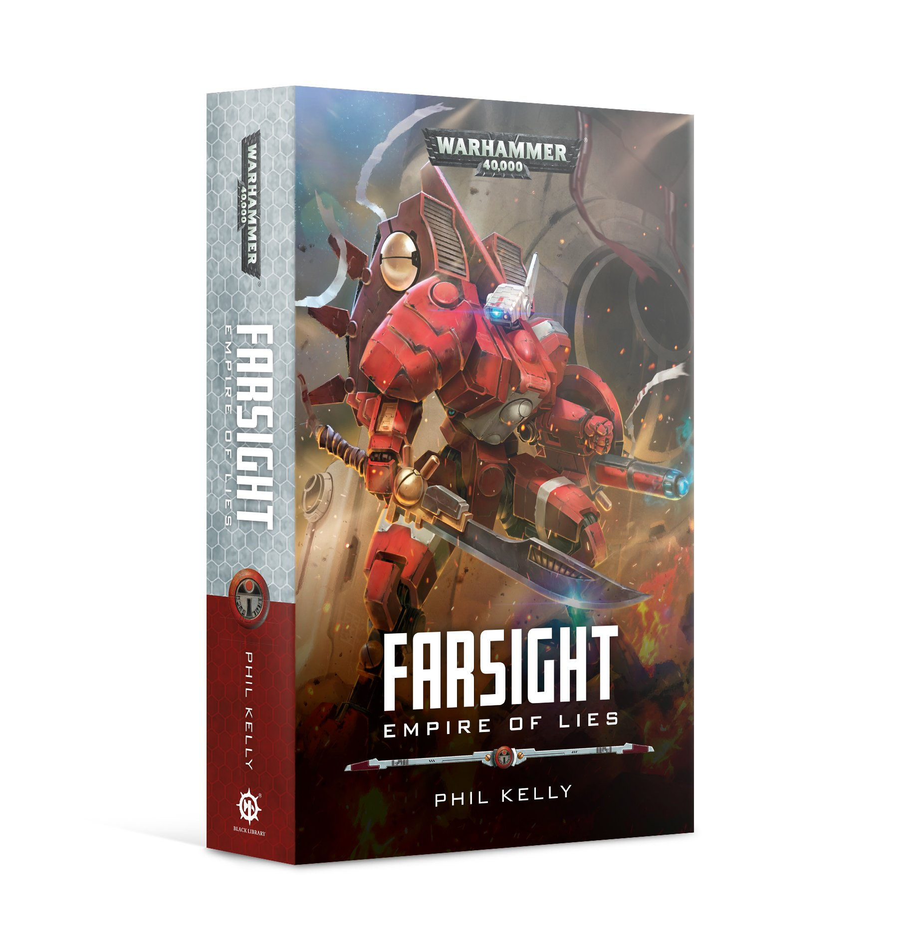 Black Library: Warhammer 40.000: Farsight: Empire of Lies (PB)