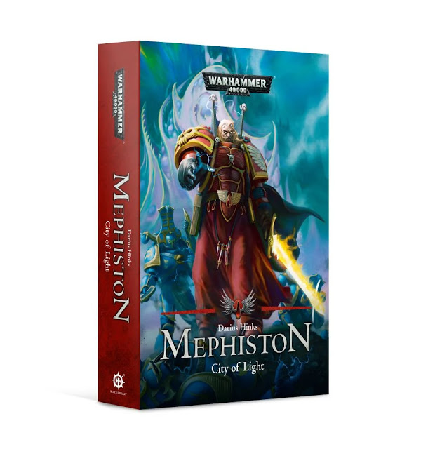 Black Library: Warhammer 40,000: MEPHISTON: CITY OF LIGHT (PB)