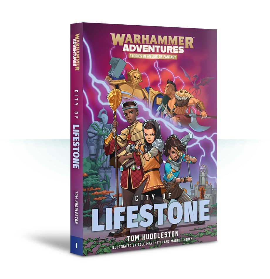 Black Library: Warhammer Adventures: Book 1: Realm Quest - City of Lifestone