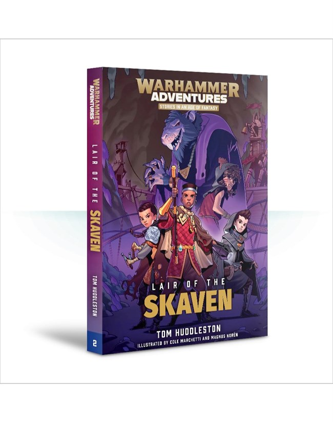 Black Library: Warhammer Adventures: Book 2: Realm Quest - Lair of the Skaven