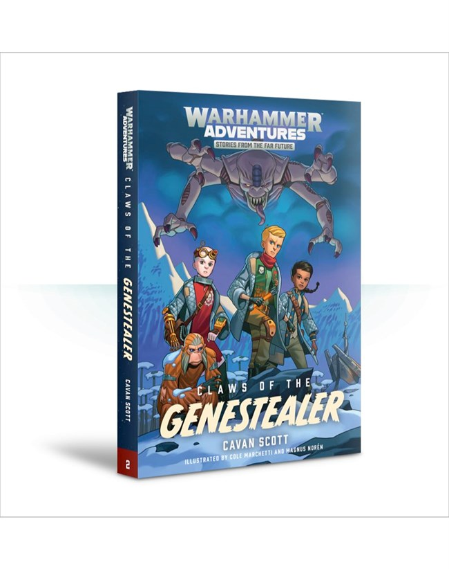 Black Library: Warhammer Adventures: Book 2: Warped Galaxies - Claws of the Genestealer