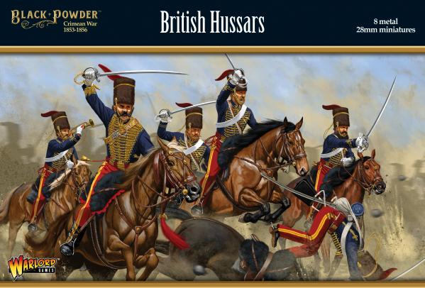 Black Powder Crimean War 1863-1856: British Hussars