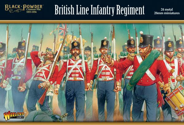 Black Powder Crimean War 1863-1856: British Line Infantry Regiment