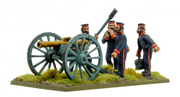 Black Powder Crimean War 1863-1856: British Royal Artillery with 9-pdr Cannon