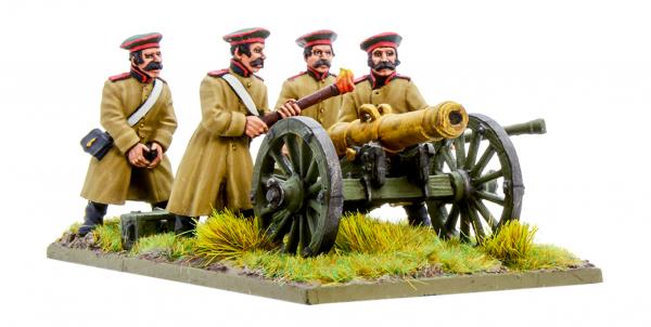 Black Powder Crimean War 1863-1856: Russian Foot Artillery with 12-pdr Cannon