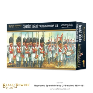 Black Powder Napoleonic Wars: 1805 -1811 Spanish Infantry (1st Batallion)