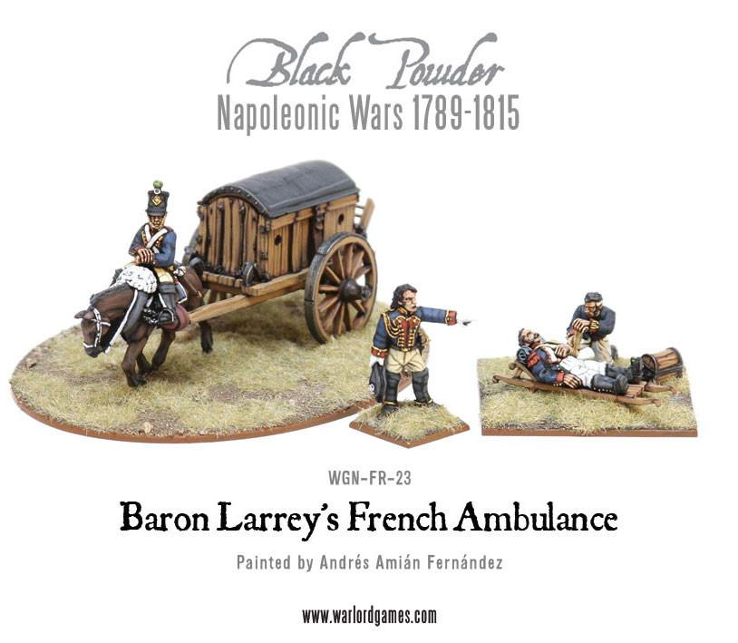Black Powder Napoleonic Wars: Baron Larreys Flying Ambulance