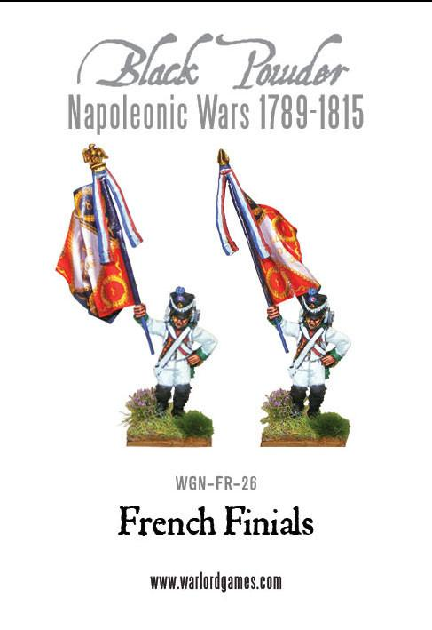 Black Powder Napoleonic Wars: French Finials