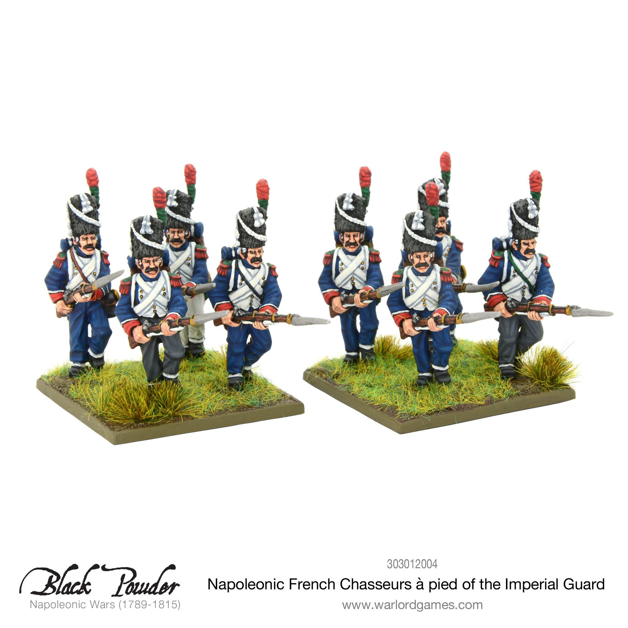 Black Powder Napoleonic Wars: Napoleonic French Chasseurs a Pied of the Imperial Guard