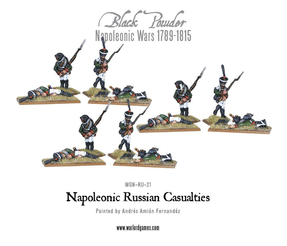 Black Powder Napoleonic Wars: Napoleonic Russian Casualties