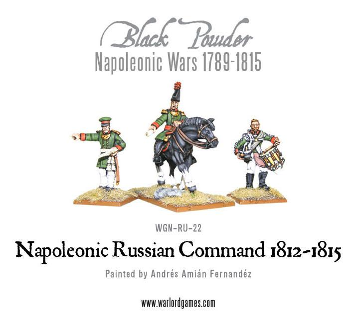 Black Powder Napoleonic Wars: Napoleonic Russian Command 1812-1815