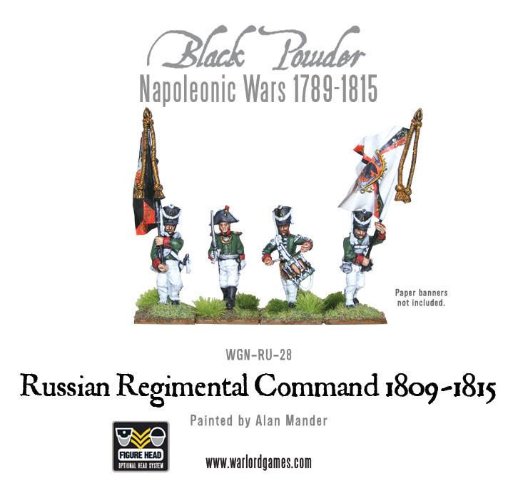 Black Powder Napoleonic Wars: Russian Regimental Command 1809-1815