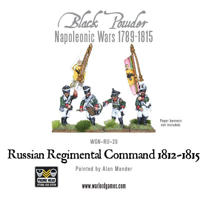 Black Powder Napoleonic Wars: Russian Regimental Command 1812-1815