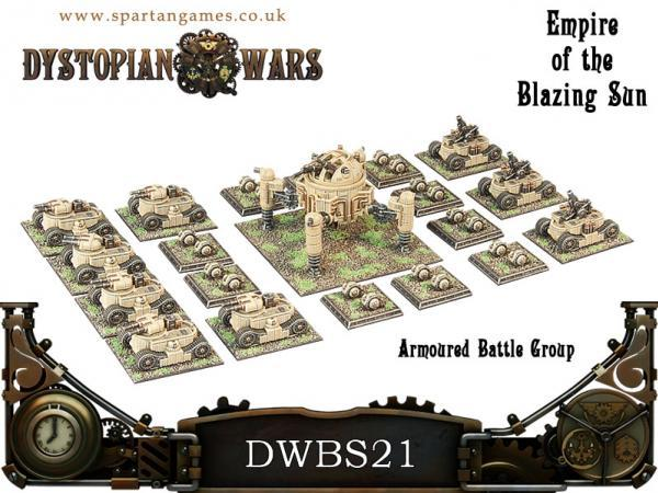 Dystopian Wars: Empire Of The Blazing Sun: Armored Battle Group