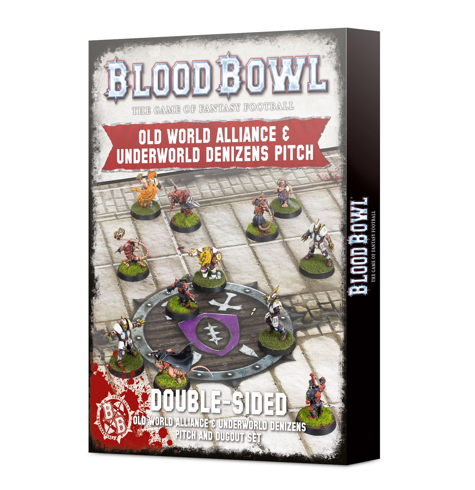 Blood Bowl: Old World Alliance and Underworld Denizens Pitch