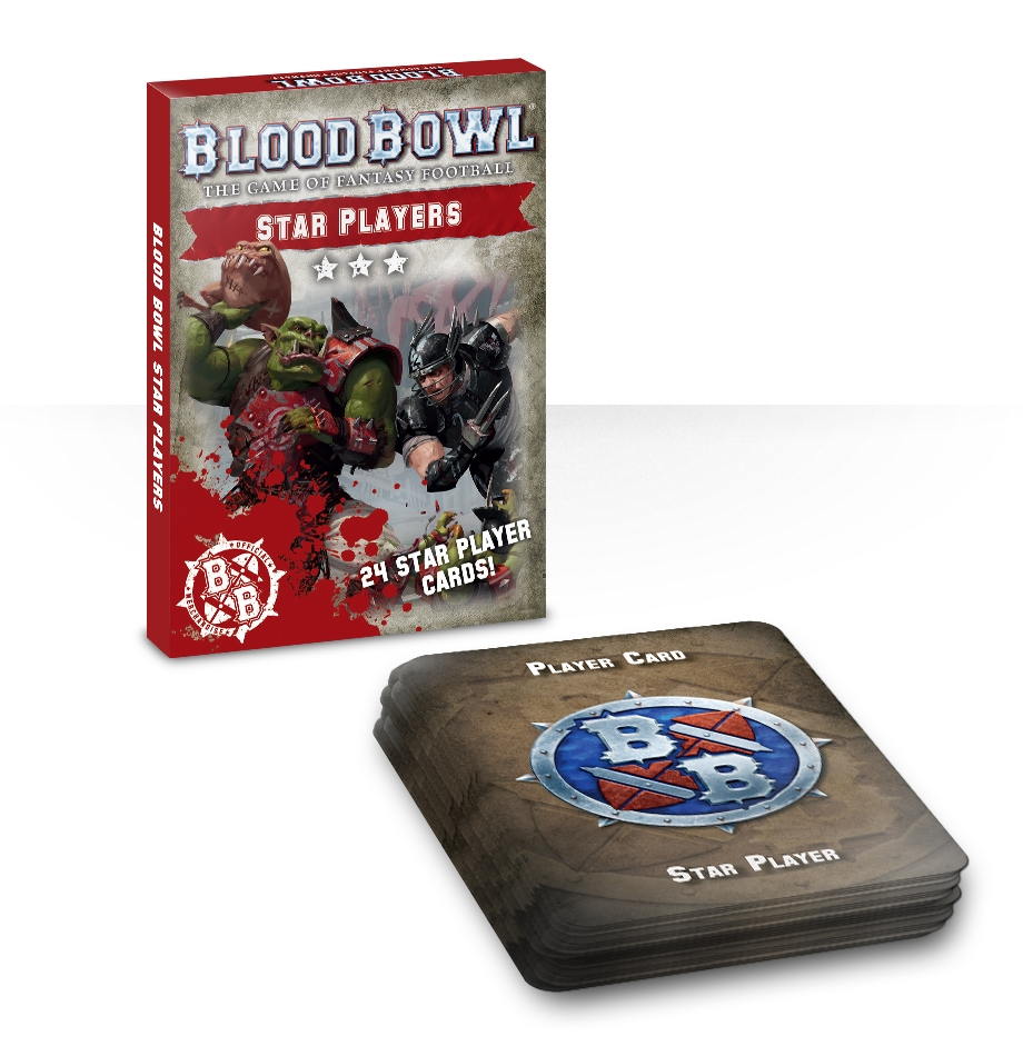 Blood Bowl Star Players Card Deck