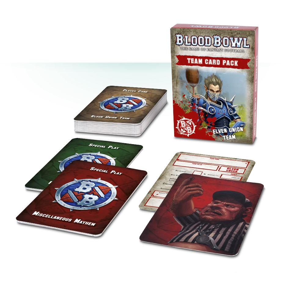Blood Bowl: Team Card Pack – Elven Union