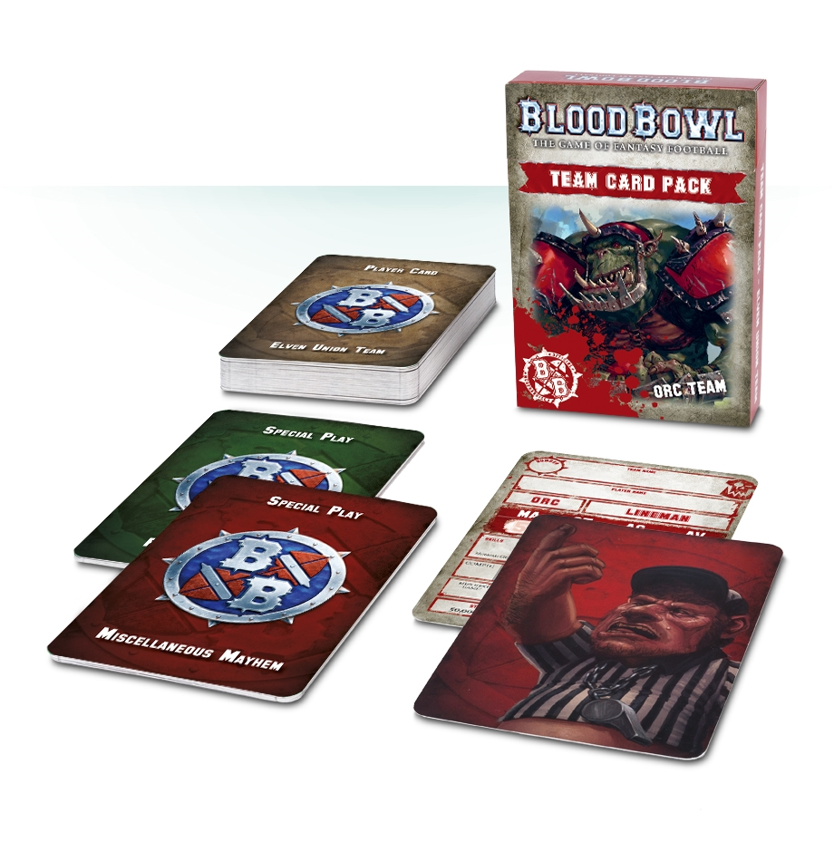 Blood Bowl: Team Card Pack – Orc Team