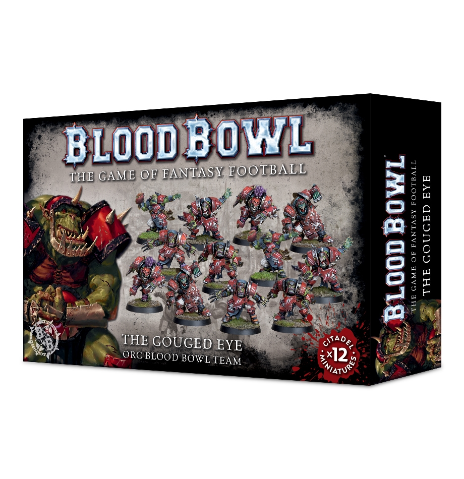 Blood Bowl: The Gouged Eye- Orc Blood Bowl Team