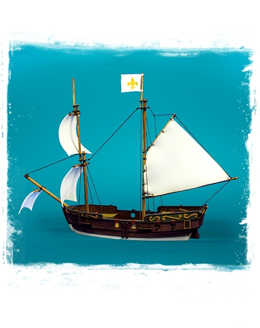Blood & Plunder: BRIGANTINE SHIP