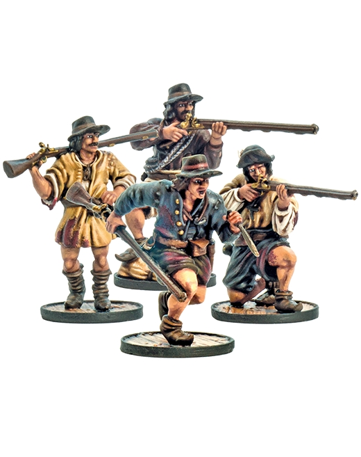 Blood & Plunder: FRENCH BOUCANIERS UNIT