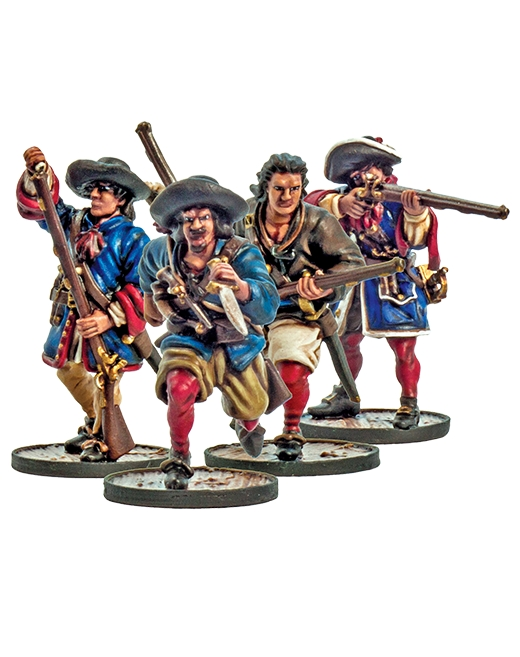 Blood & Plunder: FRENCH FLIBUSTIERS UNIT