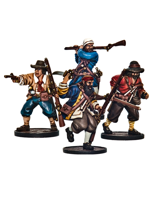 Blood & Plunder: FRENCH LES ENFANTS PERDUS (BUCCANEER STORMING PARTY)