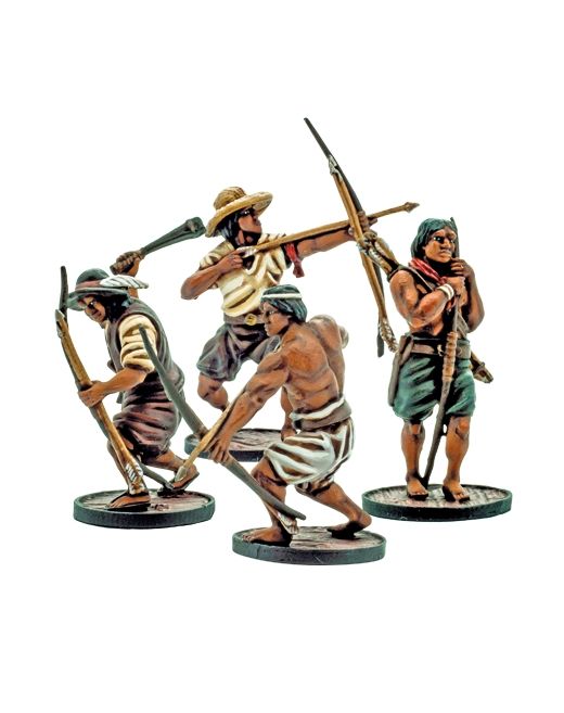 Blood & Plunder: SPANISH MILICIANOS INDIOS UNIT
