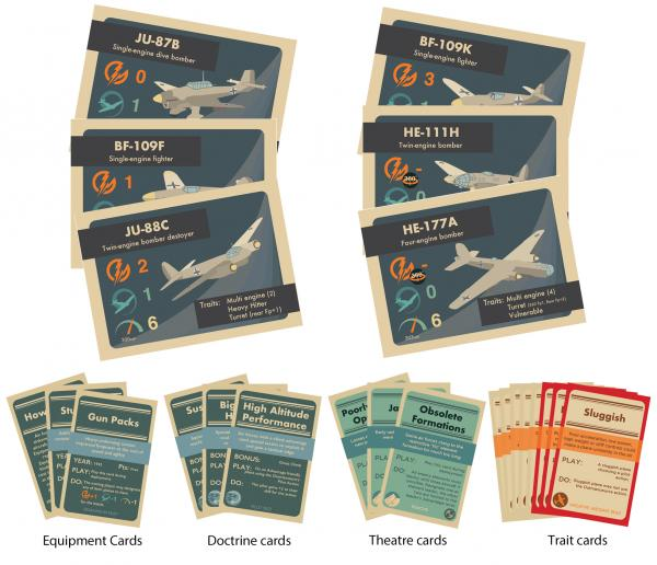 Blood Red Skies: Luftwaffe Expansion Card Pack