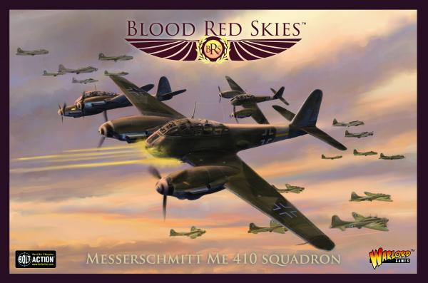 Blood Red Skies: Me 410 squadron