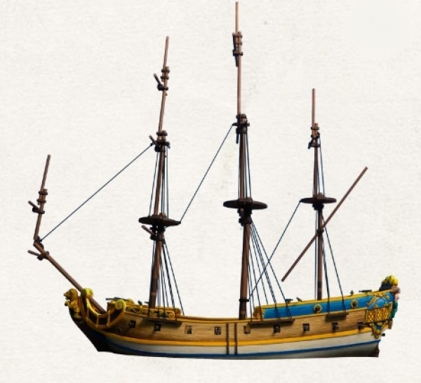 Blood & Plunder: 6th Rate Frigate Ship