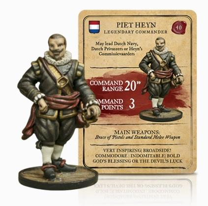 Blood & Plunder: Dutch Piet Heyn Legendary Commander