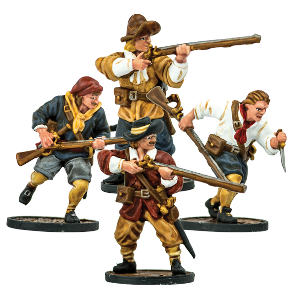 Blood & Plunder: European Sailor Musketeers Unit