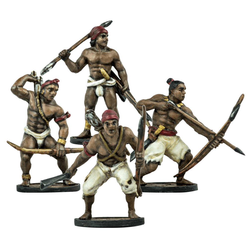 Blood & Plunder: Native American African Warriors Unit
