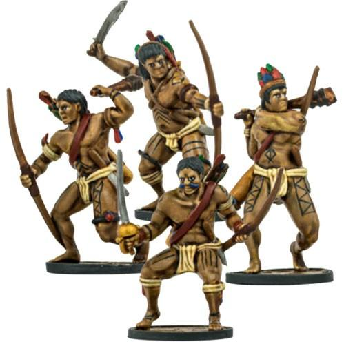 Blood & Plunder: Native American Warrior Archers Unit