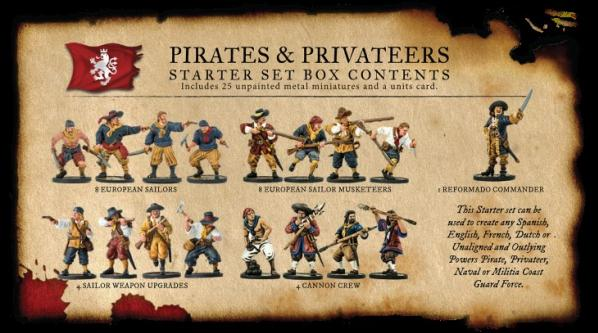 Blood & Plunder: Pirates and Privateers Starter Set