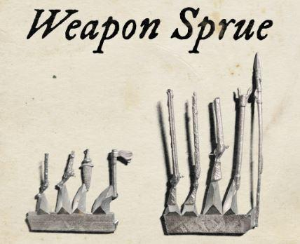 Blood & Plunder: Weapons Sprue