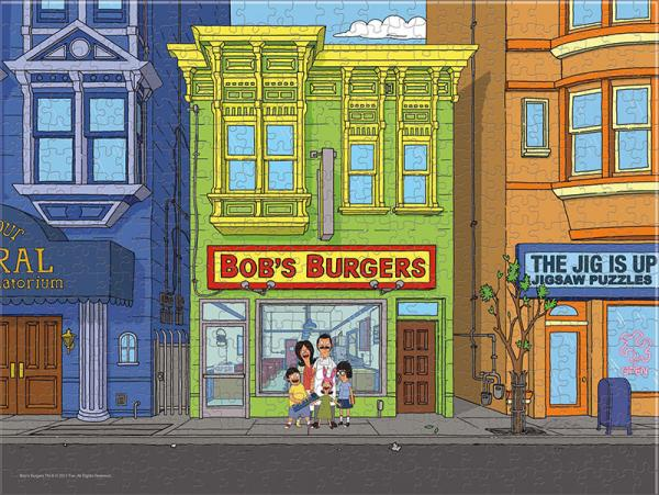 Bobs Burgers Puzzle