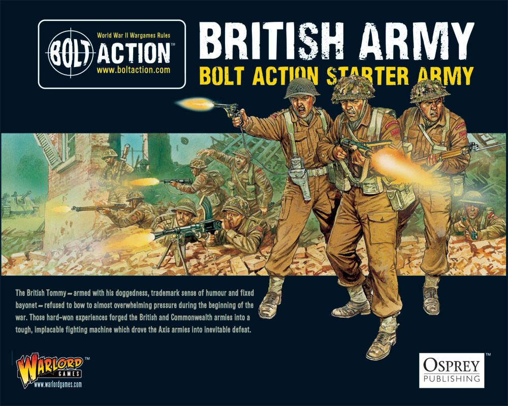 Bolt Action: British Army Starter