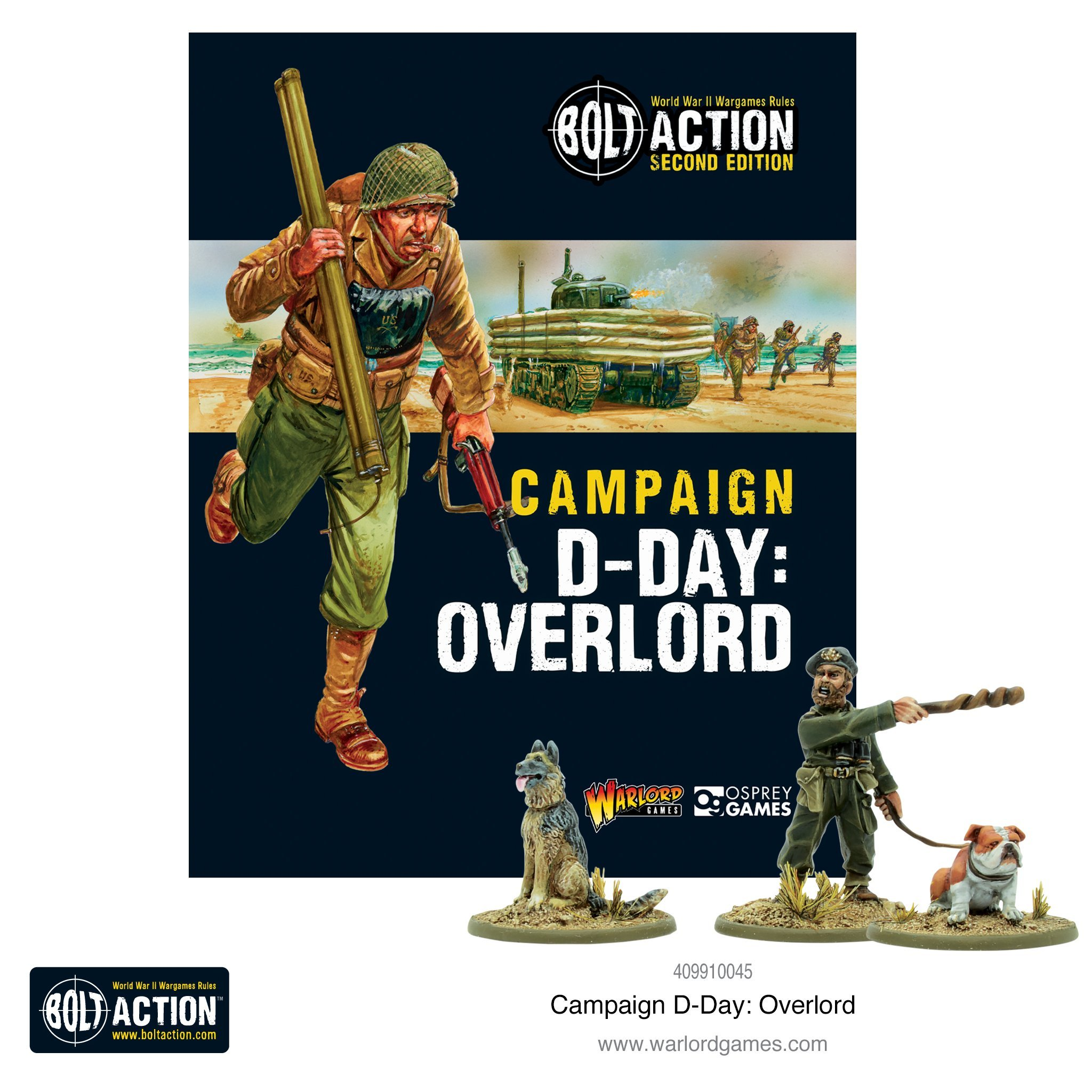 Bolt Action (2nd Edition): Campaign Overlord; D-Day book
