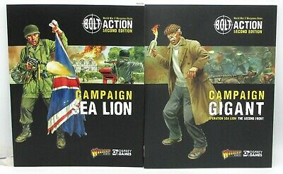 Bolt Action (2nd Edition): Operation Sealion and Gigant Campaign Bundle