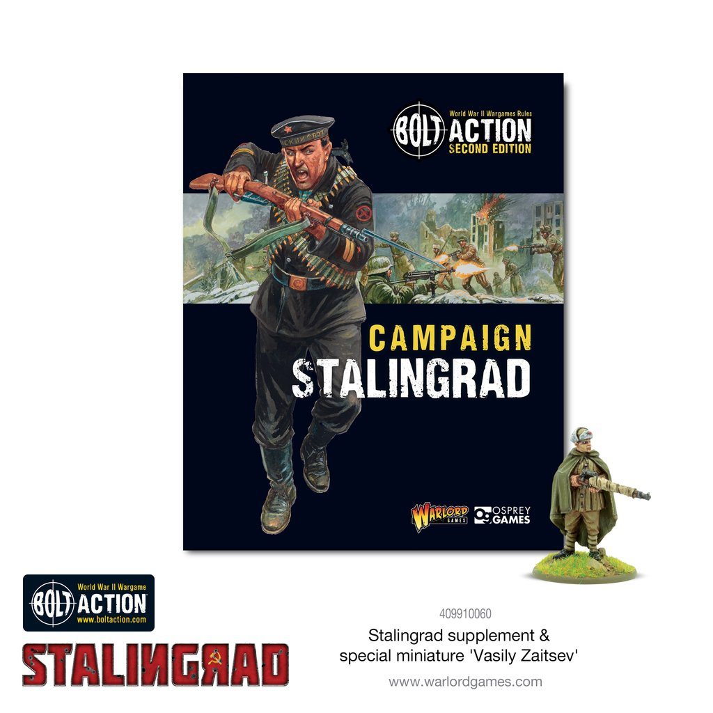 Bolt Action (2nd Edition): Stalingrad Campaign Book
