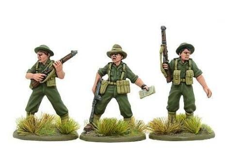 Bolt Action: Australian: Australian Officer Team