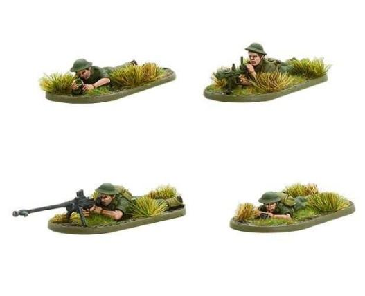 Bolt Action: Australian: PIAT and Anti-tank Rifle Teams