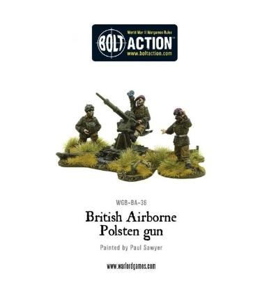 Bolt Action: British: Airborne Polsten Gun